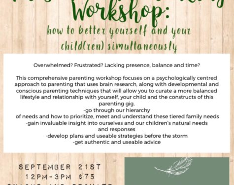 Presence In Parenting Workshop